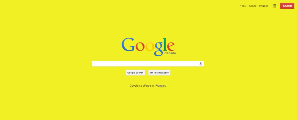 google-yellow