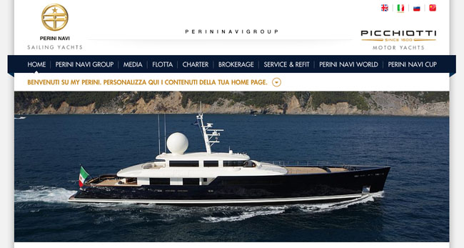 Top 10 Superyacht Builders Perini Navi