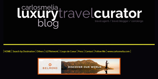 Carlos Melia Luxury Travel Curator 2