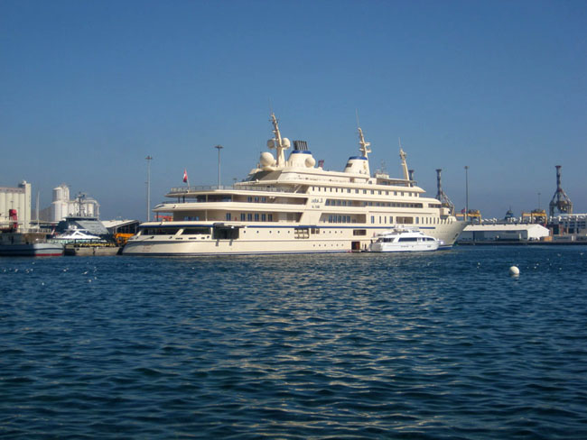 Most Expensive Superyachts of the World Al Said