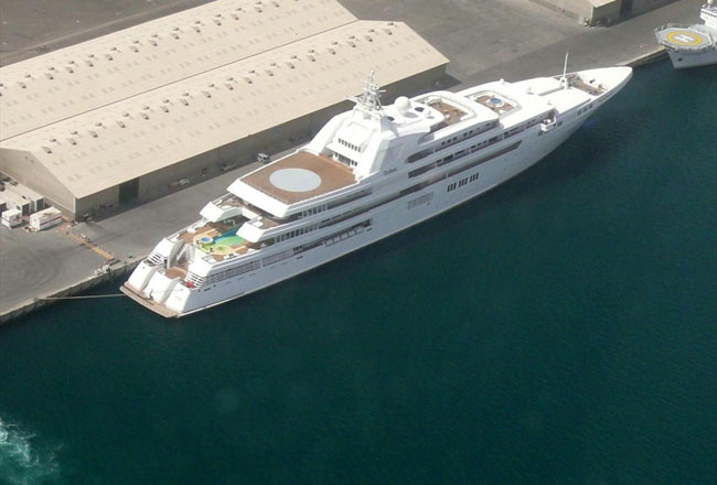 Most Expensive Superyachts of the World Dubai