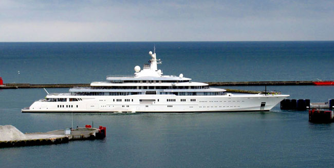 Most Expensive Superyachts of the World Eclipse