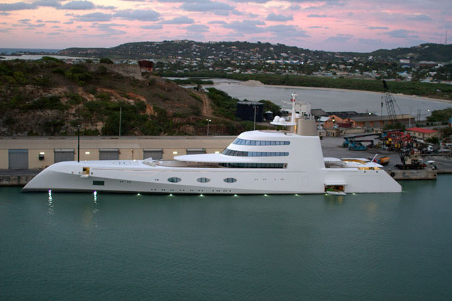 Most Expensive Superyachts of the World Superyacht A